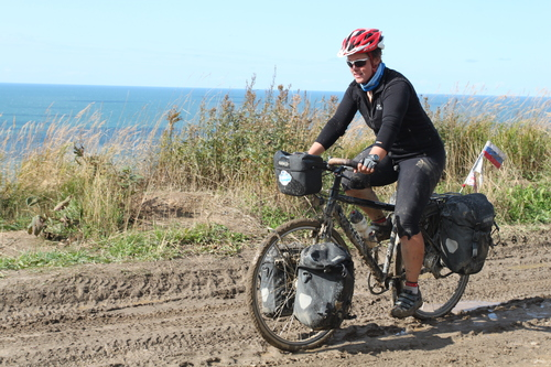 Back on the Bike - tough cycling on Sakhalin