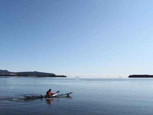 Kayaking to Sakhalin