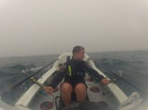 A day in the fog - here with our greatest visibility.