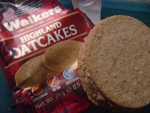Oatcakes - one of the more delicious foods onboard