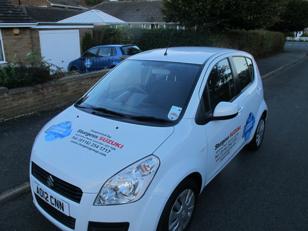 Thanks to local sponsor Sturgess Suzuki for these smart wheels