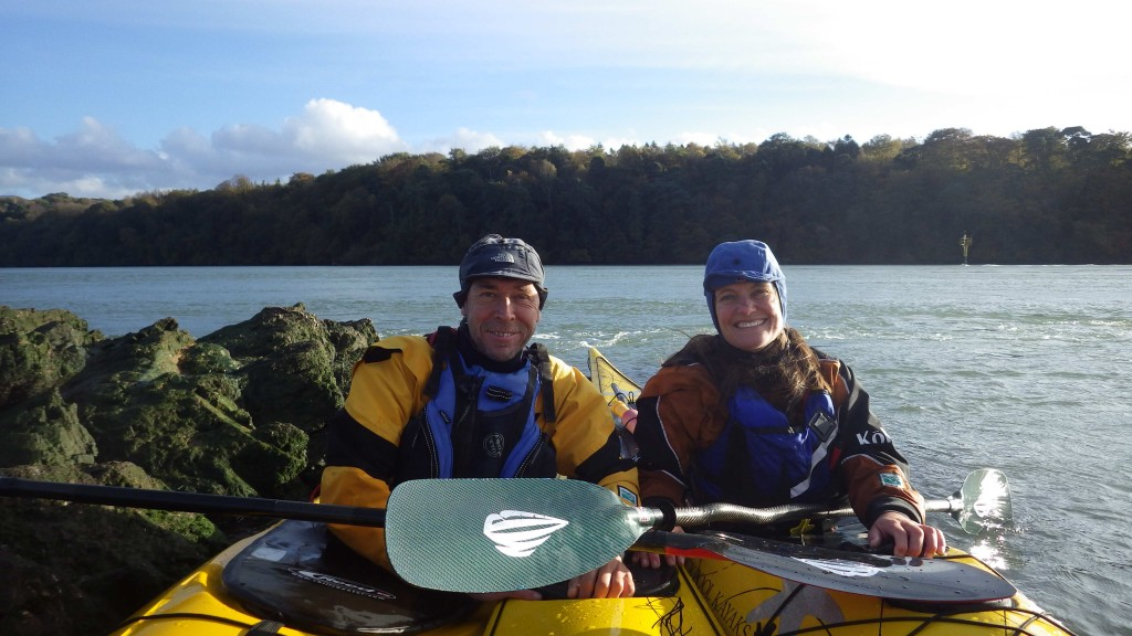 Barry Shaw & Justine Curgenven - two very excellent paddlers