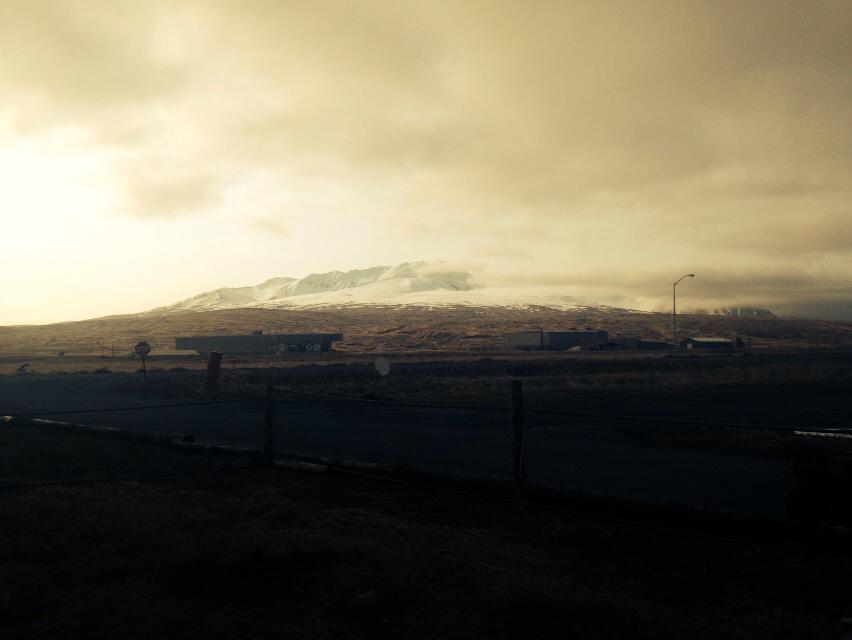A regular sight of an evening in Adak