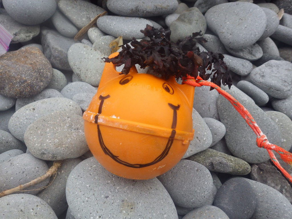 Happy to be ashore!