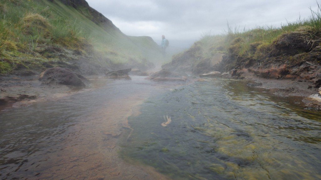 Farting steaming hot springs on Umnak Island