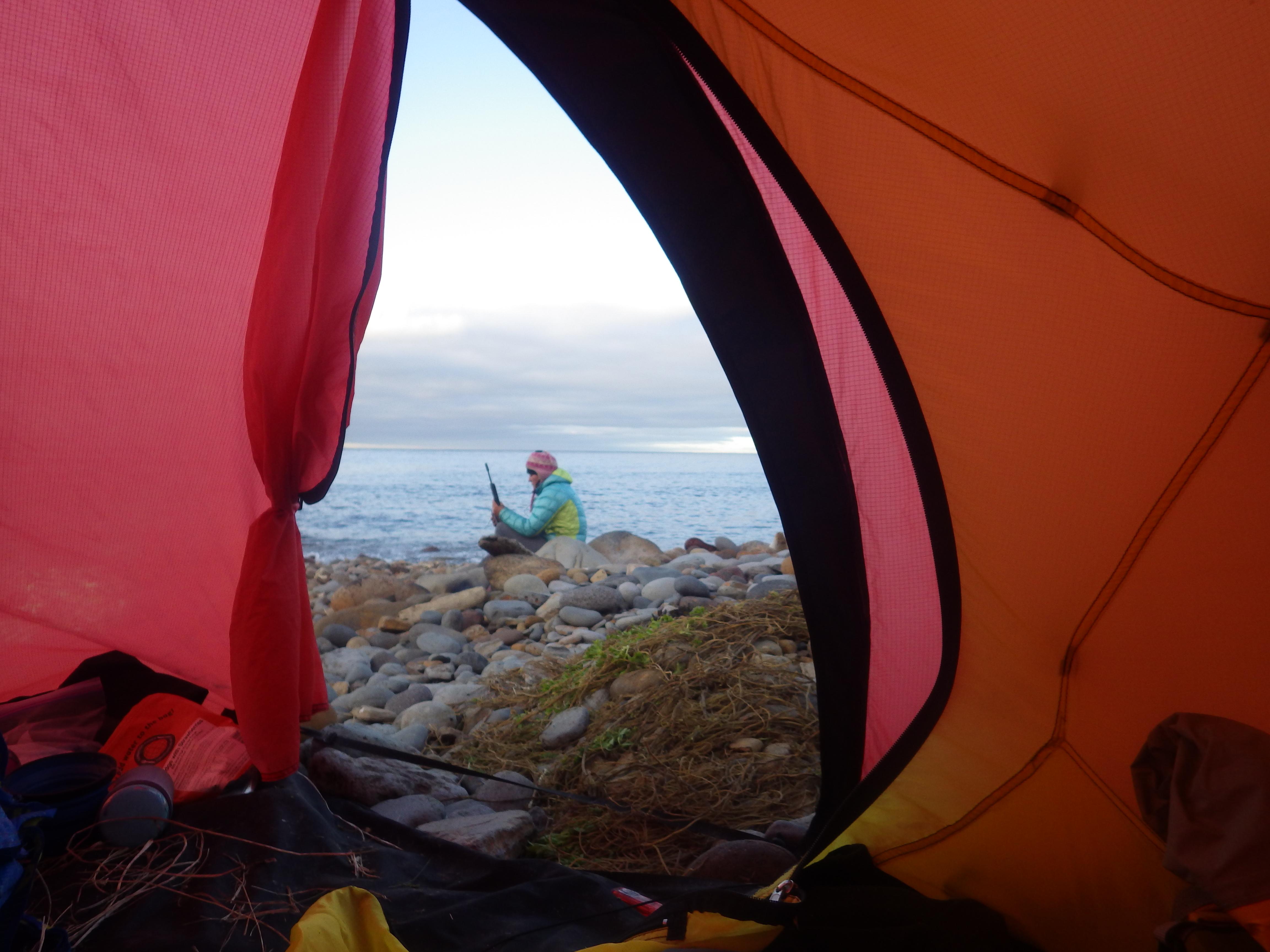 Tent life & Brutal u0026 beautiful   Sarah Outen