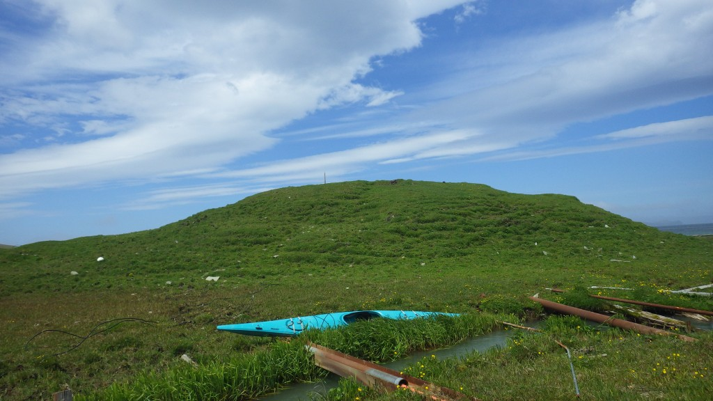 The Chaluka mound or midden heap is 4,000 years old