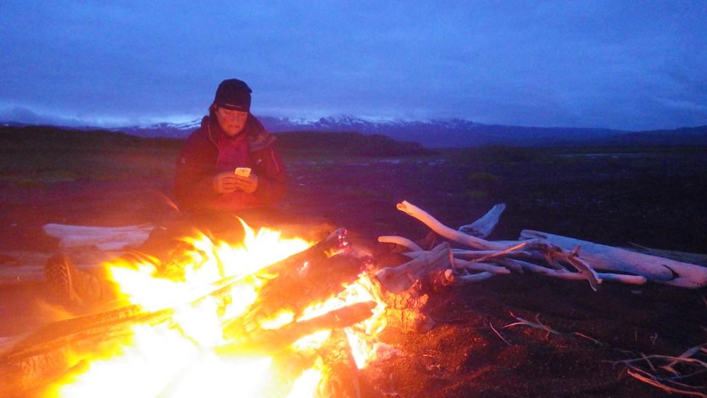 Bear fires
