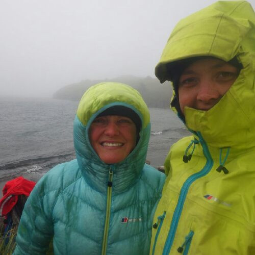 Loving our wet gear at the moment in all this rain.