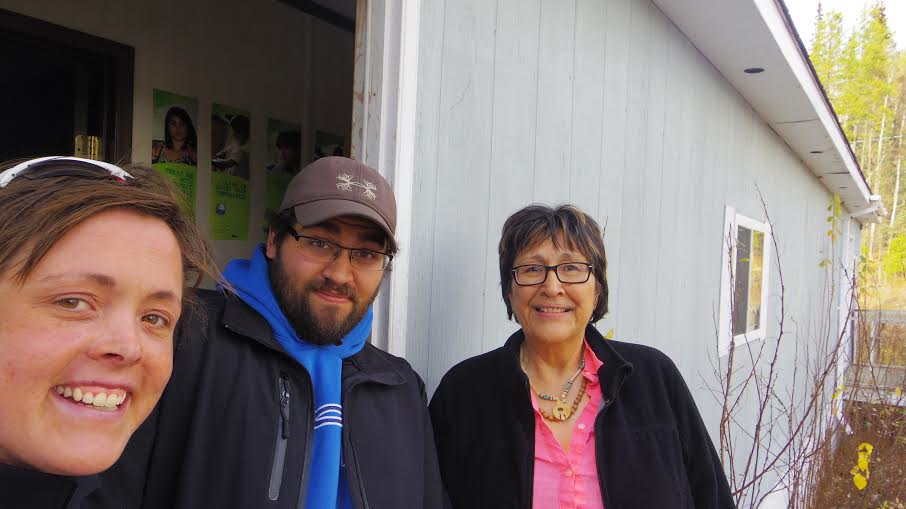 Travis and Ann of the Liard Aboriginal Women's Society