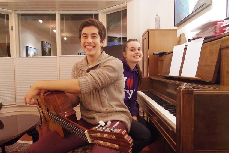 Duetting teenagers - very,very lovely - everyone should have some!