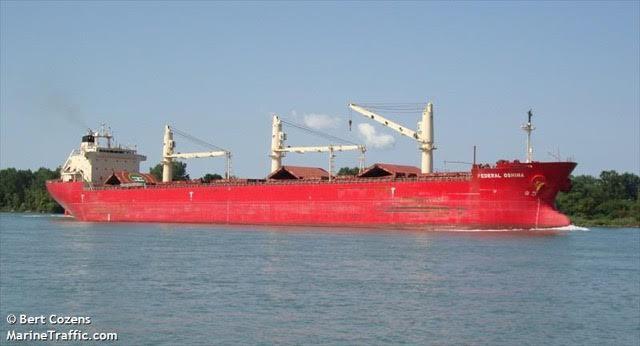 the Federal Oshima carrying precious cargo