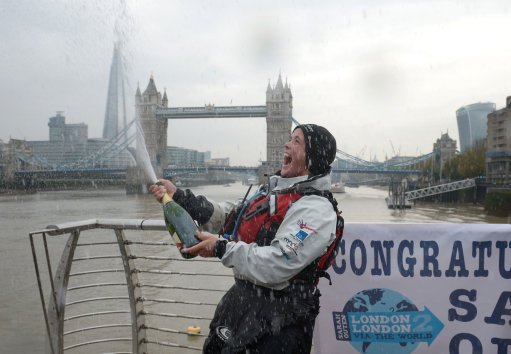 """Can you just spray the champagne again, in this direction?'"