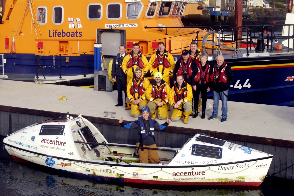 With the RNLI Castletownbere crew (Credit Niall Duffy/West Cork Photo)